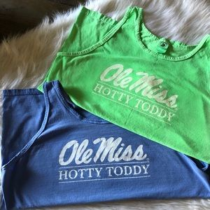 🏈Ole Miss   Hotty Toddy Tanks💕